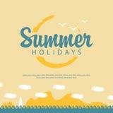 Vacaciones de verano Imágenes de archivo libres de regalías