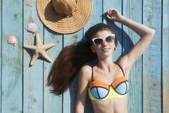 ¡Vacaciones de verano! Imagen de archivo libre de regalías