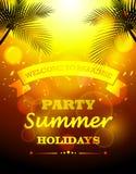 Vacaciones de verano del partido libre illustration