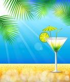 Vacaciones de verano del partido con el cóctel libre illustration