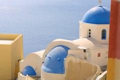 Vacaciones de verano en Grecia Imágenes de archivo libres de regalías