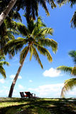 Vacaciones de verano en la isla de Maldives Foto de archivo
