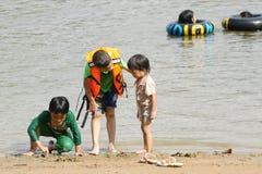 Vacaciones de verano en Tailandia Foto de archivo libre de regalías