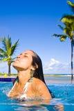 Vacaciones del centro turístico Imagen de archivo libre de regalías