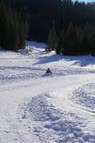 Vacaciones del invierno del niño Foto de archivo libre de regalías