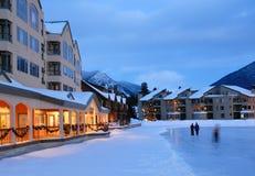 Vacaciones del invierno en Colorado Imagen de archivo libre de regalías