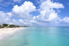 Vacaciones del Playa del Carmen Foto de archivo libre de regalías