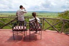 Vacaciones del safari Fotos de archivo libres de regalías