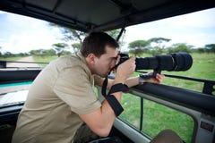 Vacaciones del safari Fotografía de archivo libre de regalías