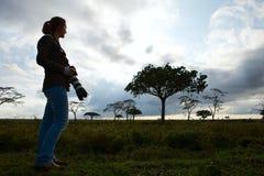 Vacaciones del safari Imagen de archivo