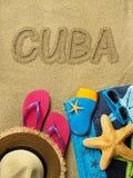 Vacaciones en Cuba Foto de archivo libre de regalías