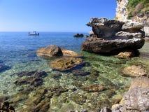 Vacaciones en el mar Fotografía de archivo libre de regalías