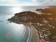 Vacaciones en el tema de San Juan del sur fotos de archivo