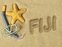 Vacaciones en Fiji Imagen de archivo