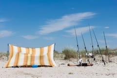 Vacaciones en la costa Imágenes de archivo libres de regalías