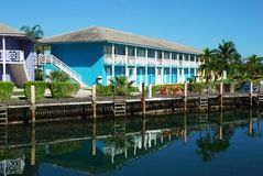 Vacaciones en la isla de Bahama magnífica Foto de archivo libre de regalías