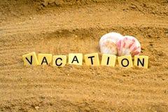 Vacaciones en la playa Fotografía de archivo