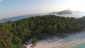 Vacaciones en la playa almacen de metraje de vídeo