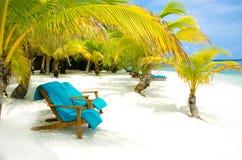 Vacaciones en la playa del paraíso Imagen de archivo