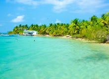 Vacaciones en la playa del paraíso fotografía de archivo libre de regalías