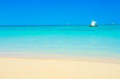 Vacaciones en la playa del paraíso en Anakao, Madagascar fotos de archivo libres de regalías