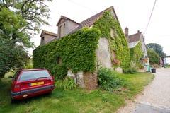 Vacaciones en una cabaña francesa Imagenes de archivo