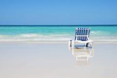 Vacaciones en una playa Fotografía de archivo