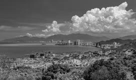 Vacaciones Nha Trang Vietnam blanco y negro Fotos de archivo