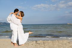 Vacaciones o luna de miel románticas imagen de archivo