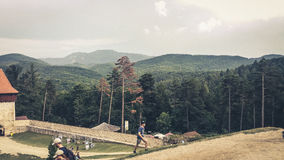 Vacaciones Rumania de la montaña Fotos de archivo
