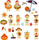 Vacaciones Stickers Stock Image