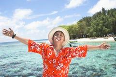 Vacaciones tropicales de la isla Imagen de archivo
