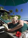 Vacaciones tropicales - las islas de cocinero Imagen de archivo