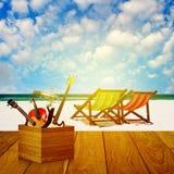 Vacances à l'heure d'été photographie stock libre de droits
