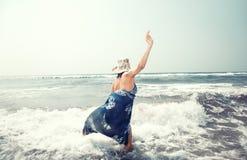 Vacances à la mer Image libre de droits