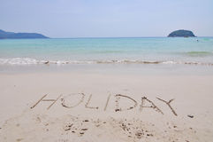 Vacances à Phuket en Thaïlande photo libre de droits