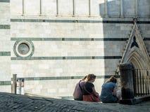 Vacances à Sienne Photos stock
