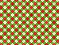 Vacances Argyle Background Pattern Illustration de Noël illustration de vecteur