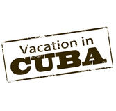 Vacances au Cuba illustration stock