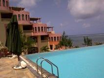 Vacances côtières sereines Photo stock
