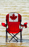 Vacances canadiennes photo stock