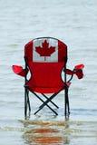 Vacances canadiennes images libres de droits