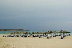 Vacances chez l'Espagne : Horizontal de mer de Beautyful Image libre de droits