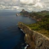 Vacances chez l'Espagne : Horizontal rocheux de Beautyful Photographie stock