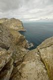 Vacances chez l'Espagne : Horizontal rocheux de Beautyful Image libre de droits