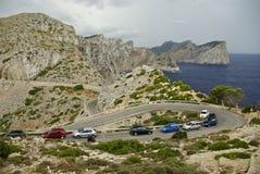 Vacances chez l'Espagne : Horizontal rocheux de Beautyful Photographie stock libre de droits