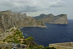 Vacances chez l'Espagne : Horizontal rocheux de Beautyful Photos stock