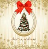 Vacances, cru, fond sale de Noël illustration libre de droits