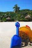 Vacances d'été - île tropicale Photos libres de droits