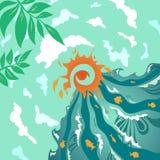 Vacances d'été ! illustration libre de droits